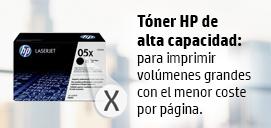 Toner HP de alta capacidad